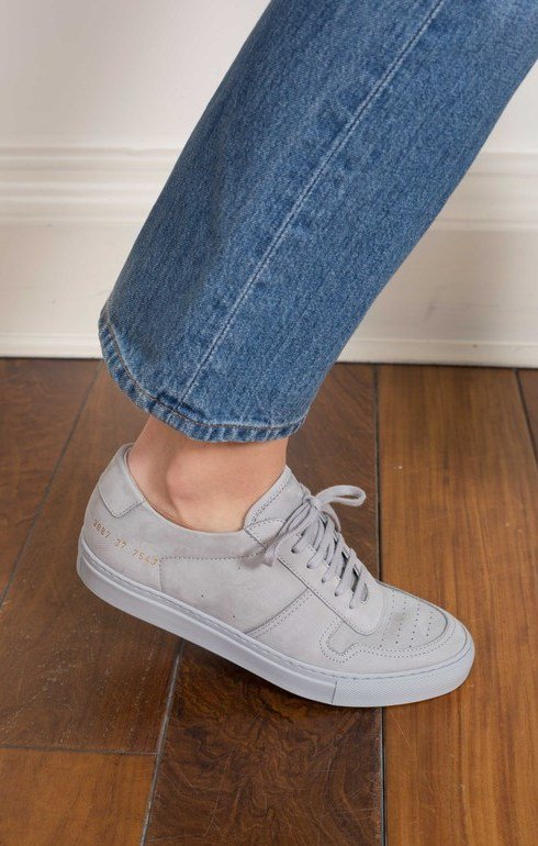 f7c813058c0 Bball Low Nubuck Grey | Common Projects | Epitome