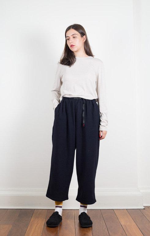 Double Navy Gramicci Japan Gramicci Pants