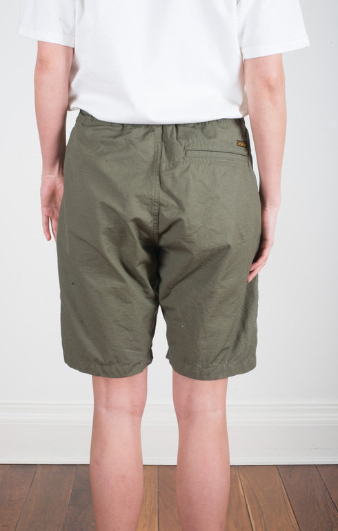 New Yorker Shorts Army Olive | OrSlow | Epitome of Edinburgh