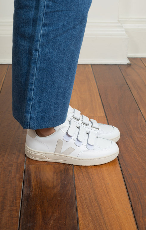 V-Lock Leather Extra White Natural