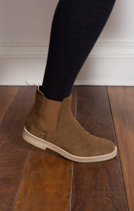 Chelsea Boot Suede Tabacco