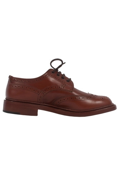 Marron Antique Derby Brogue