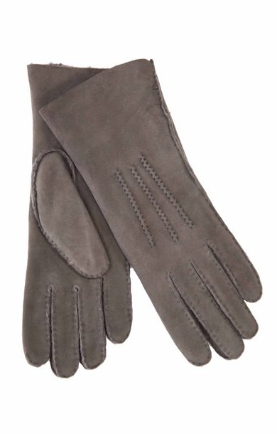 Shearling Glove Grey