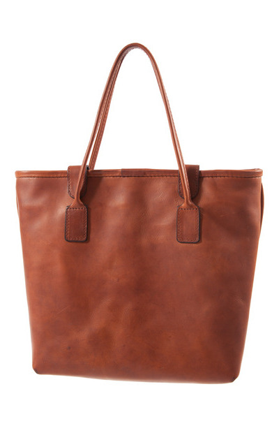 Mackenzie Leather X Cameron taylor* Tote Bag - Chestnut