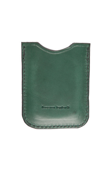 Leather Phone Case Green