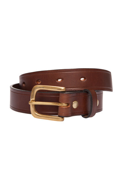 Chestnut Leather Belt Standard