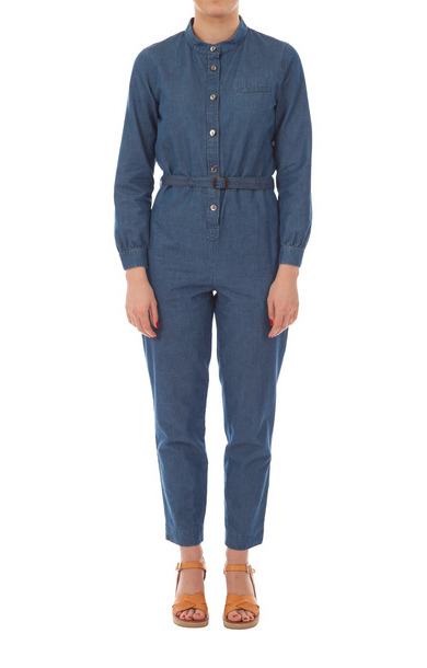 Texas Jumpsuit Denim