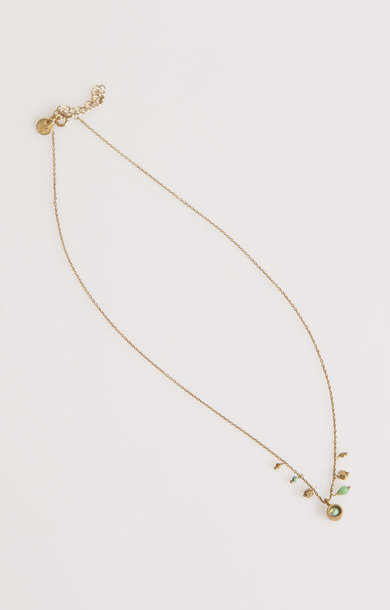 Loop Necklace Turquoise
