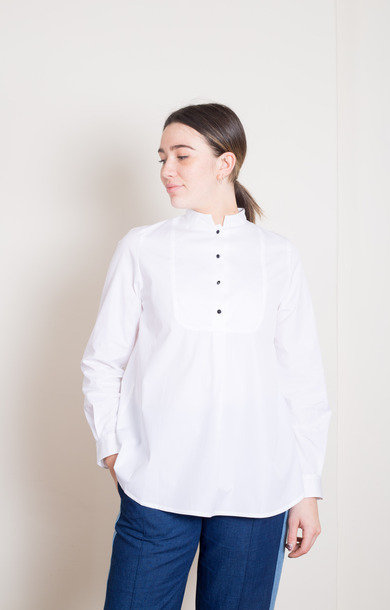 Blouse Christiana Blanc