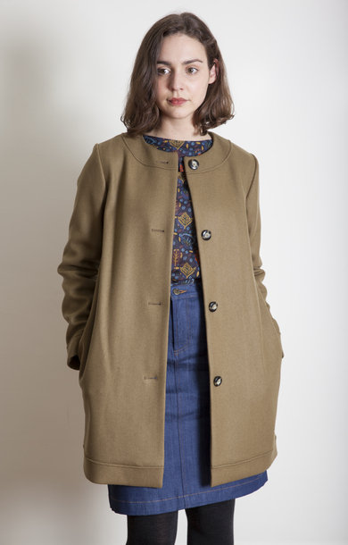 Manteau Hilary Tabac