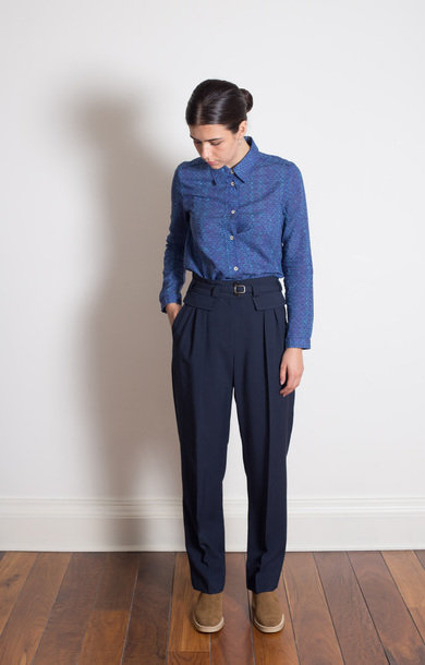Pantalon Isa Dark Navy