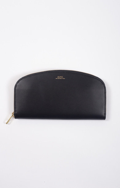 Purse Demi Lune Black