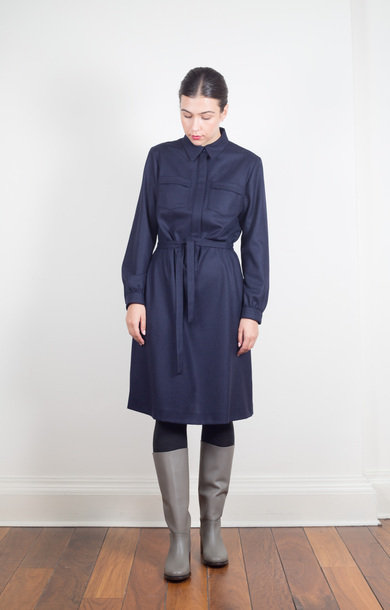Robe Angele Dark Navy