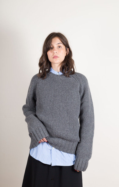 Pull Ethan Oversize Gris Chine