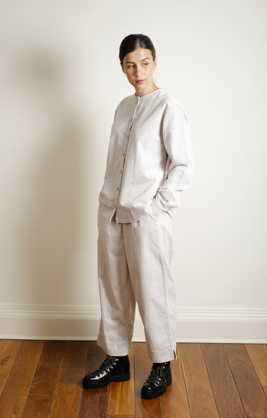 Straight Pant Cordroy Sea Salt