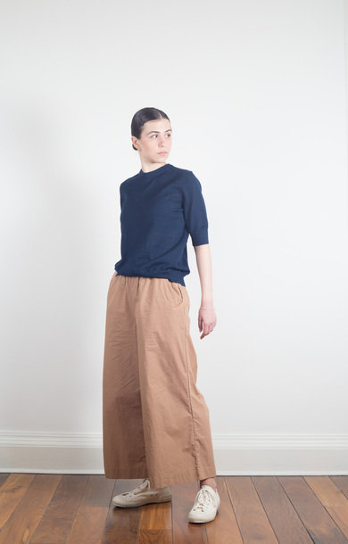 Wide Pant Tabacco