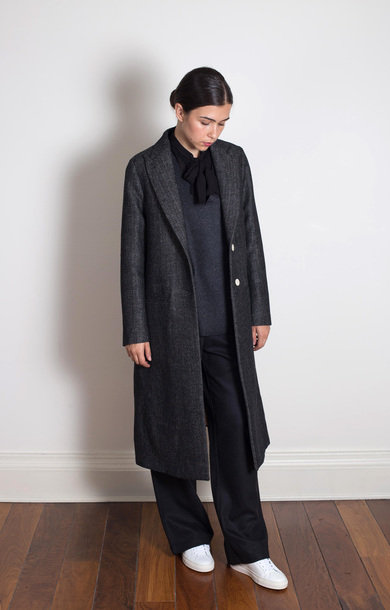 Coat Fosca Buriana Nero