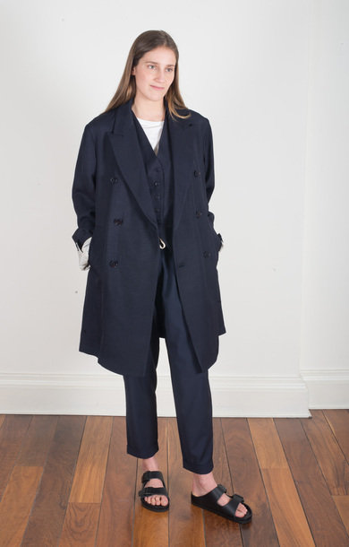Coat Petrona Navy