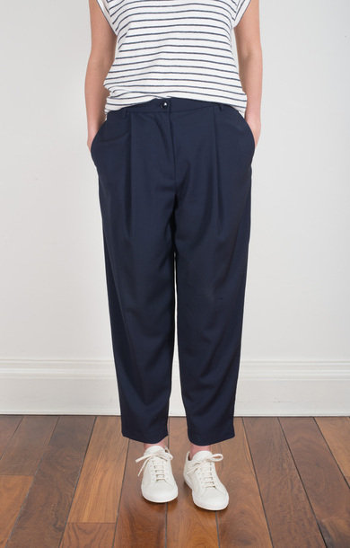 Trousers Garbo Navy