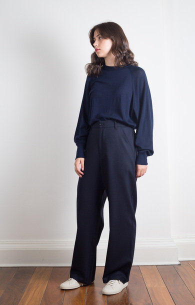 Trousers Ida Frare Navy