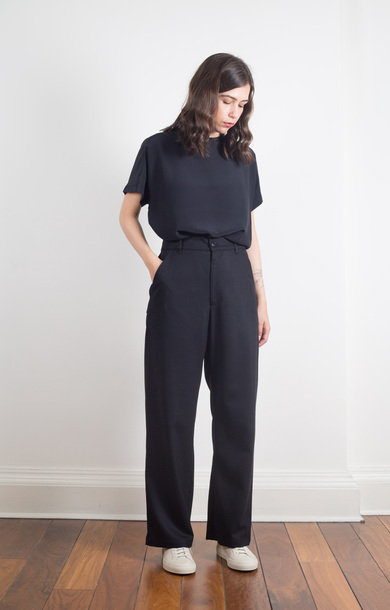 Trousers Ida Frare Nero