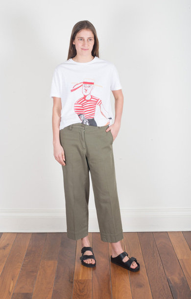 Trousers Livia Army
