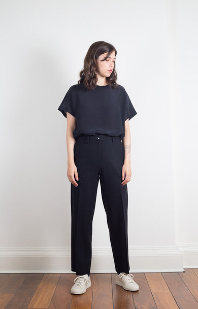 Trousers Livia Rova Nero