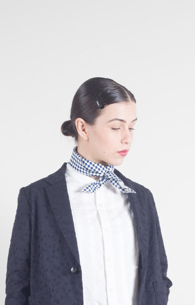 Small Checkered Bassen Bandana