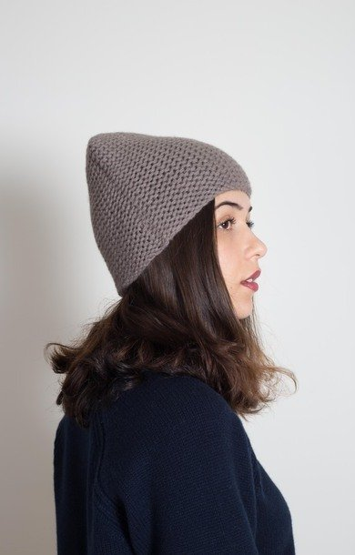 Plain Garter Stitch Hat Elephant