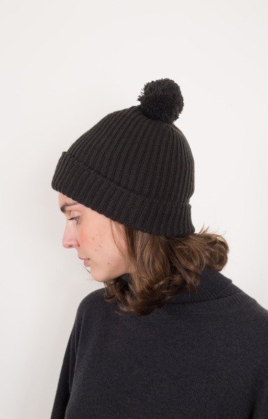 Fisherman Bobble Beanie Assam