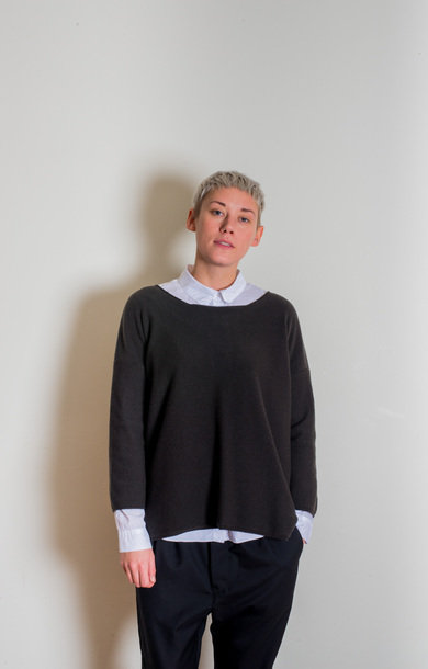 Oversized 2ply Boxy Jumper Assam