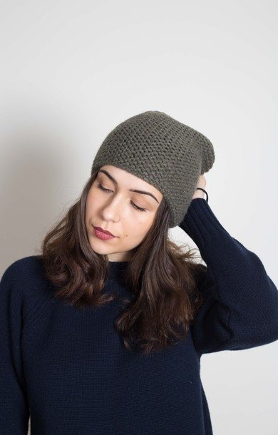 Plain Garter Stitch Hat Borneo