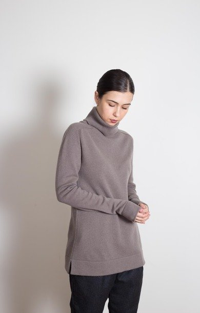 Plain Roll Neck Elephant