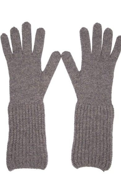 Rib Cuff Gloves Derby Grey