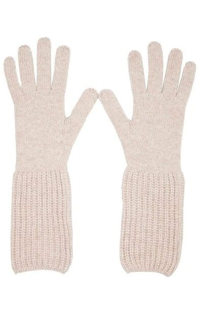 Rib Cuff Gloves Moondust