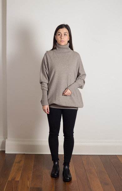 Roll Neck Dress Orkney