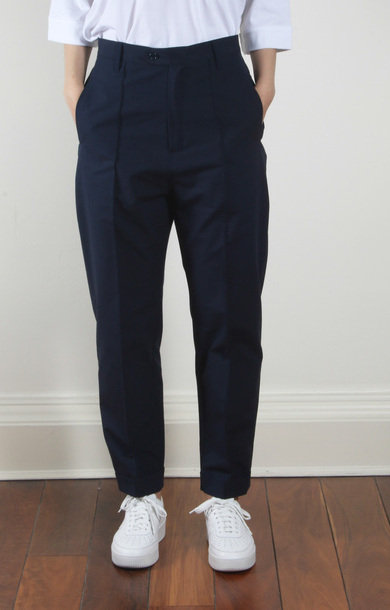 Chaplin Trouser Lampo Canvas Blue