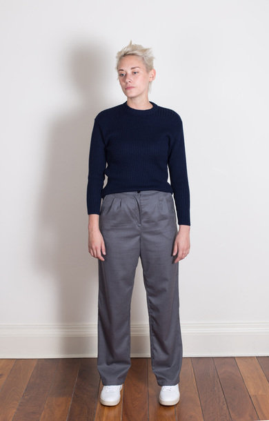 Daria Trousers Cincinnati Merino Grey