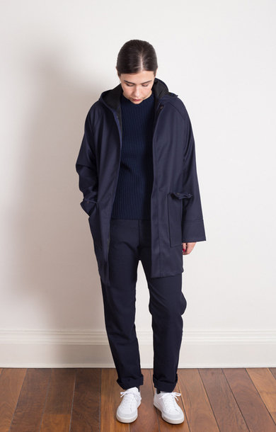 Luke Rain Jacket Cordura Navy