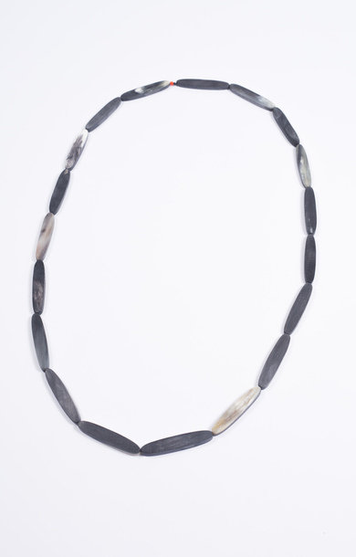 Necklace Horn Longhi M Grey