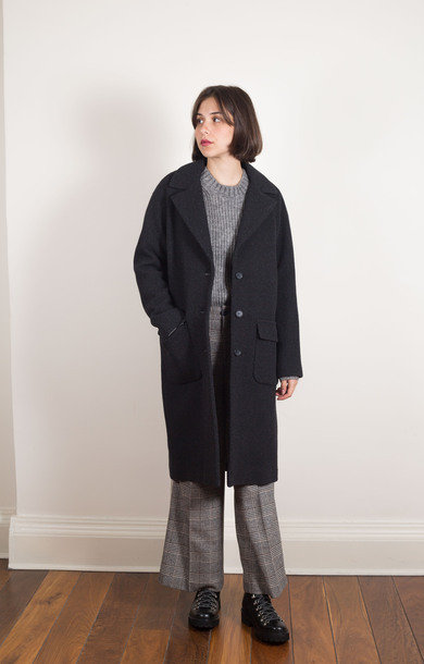 Marome Coat Anthracite