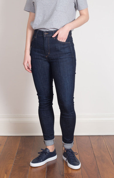 Carlie High Rise Skinny in Foxy