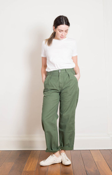 Twill Avery Chino Green