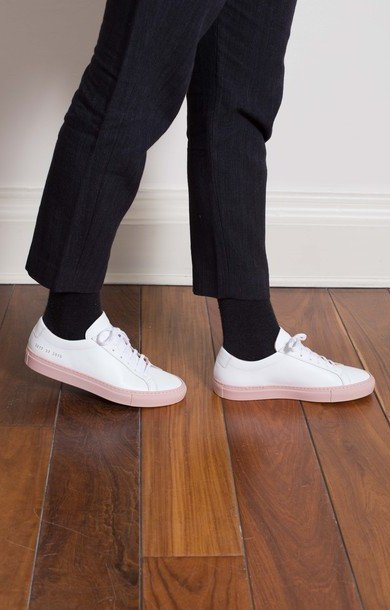 Achilles Low White/Blush
