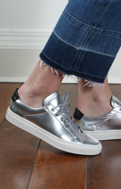 Achilles Retro Low Silver