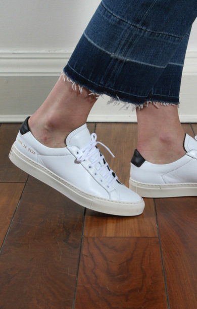 Achilles Retro Low White