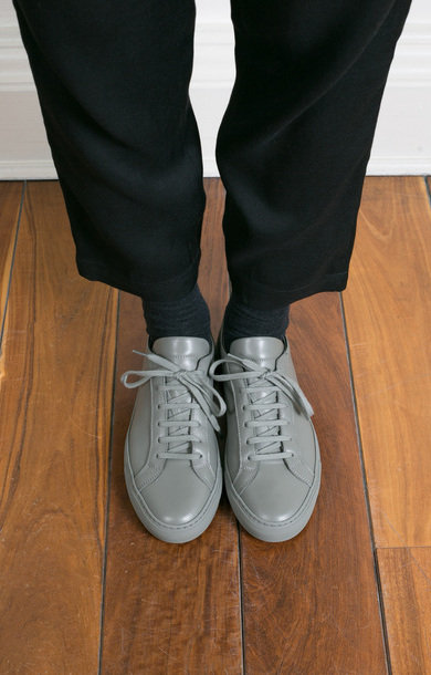 Original Achilles Low Cobalt Grey