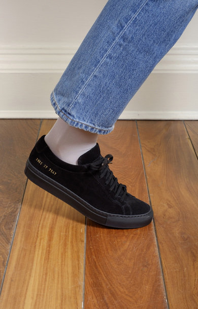 Original Achilles Low in Suede Black