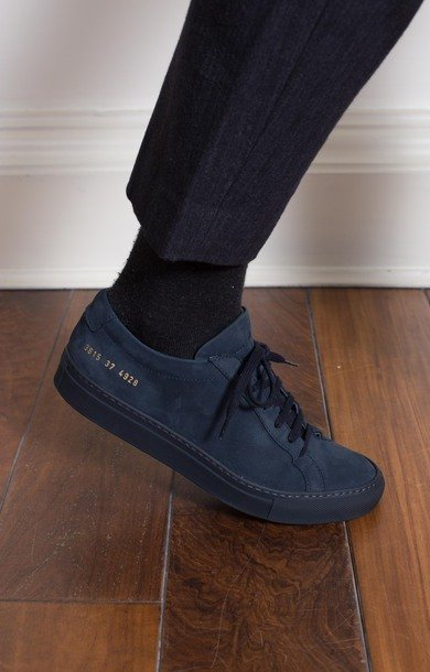Original Achilles Low Nubuck Navy