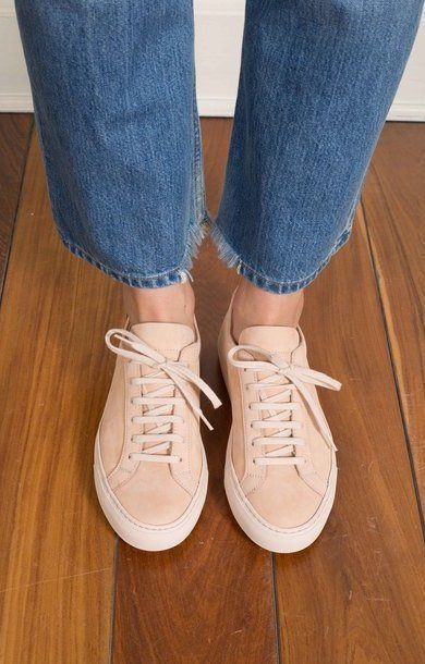 Original Achilles Low Nubuck Nude